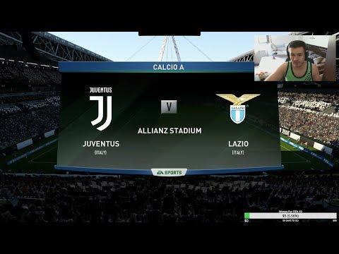 Juventus vs Lazio! Calcio A Prediction! Fifa 18 Gameplay