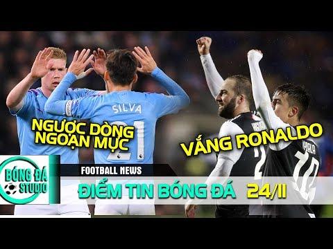 ĐIỂM TIN BÓNG ĐÁ 24/11| Vắng Ronaldo, Juventus vẫn thắng vang dội, Chelsea thua ngược đau đớn