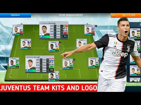 How To Import Juventus Logo And Kit In Dream League Soccer 2019 | Android