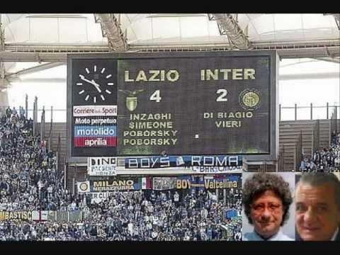 LAZIO-INTER 4-2 – Radiocronaca di Riccardo Cucchi & Bruno Gentili – 5 Maggio 2002 (Radio Rai)