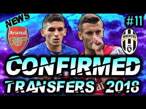 ⚽ CONFIRMED SUMMER 2018 TRANSFERS :#11: Ft Torreira to Arsenal Confirmed, Juventus Transfers & More