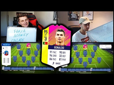 Unglaubliches C. RONALDO Juventus Turin Transfer Squad Builder Battle! – Fifa 18 Ultimate Team