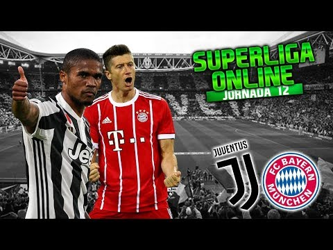 FOOTBALL MANAGER 2018 | JUVENTUS Vs BAYERN MUNICH | SuperLiga | Jornada 12 | FM18 Español