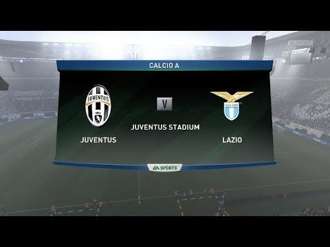 FIFA18   Juventus vs Lazio   Super Cup   Full Match Gameplay