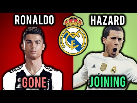 ⚽ LATEST REAL MADRID TRANSFER NEWS Summer 2018: #4: RONALDO JOINS JUVENTUS !