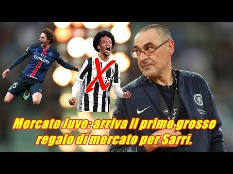 Mercato Juve: arriva il primo grosso regalo di mercato per Sarri.