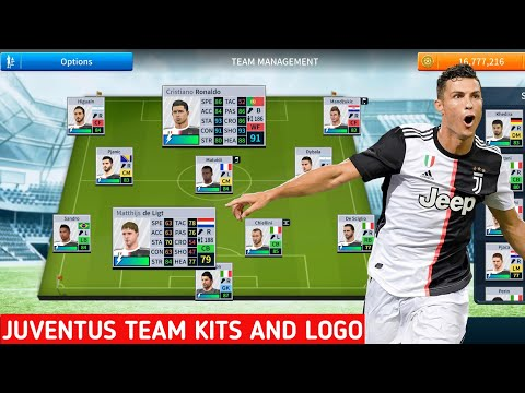 How To Import Latest Juventus Kit Logo And Players In Dream League Soccer 2019