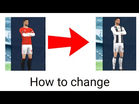 How to change Juventus Jersey in DLS 2019