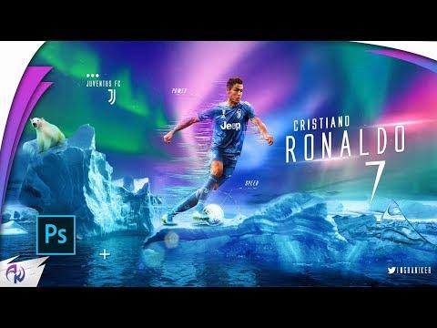 Cristiano Ronaldo Wallpaper (  Juventus FC ) 2019/20 Speed art