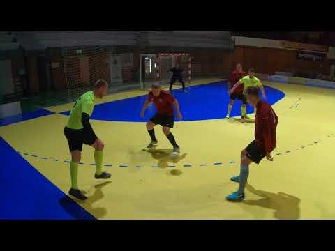CyS Žilina – PIZZERIA TEMPO-Juventus B 3:5, 2. časť – II. polčas (JOMA Futsalová Žirafa Liga Žilina)