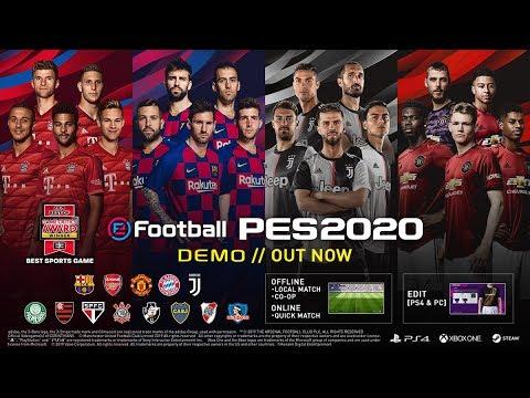 PES 2020 Demo [Juventus vs Bayern @ 1080p MAXXX]