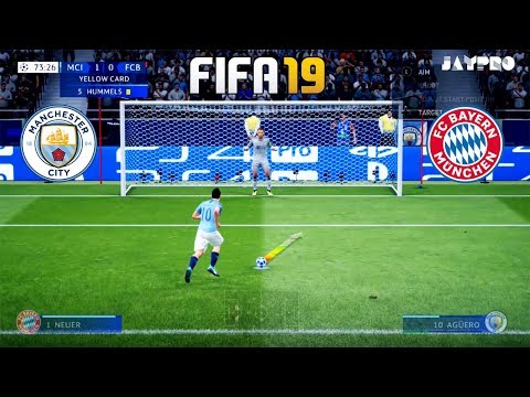 FIFA 19 | MANCHESTER CITY VS BAYERN MUNICH | Full Match and Amazing Goals | Gameplay PC