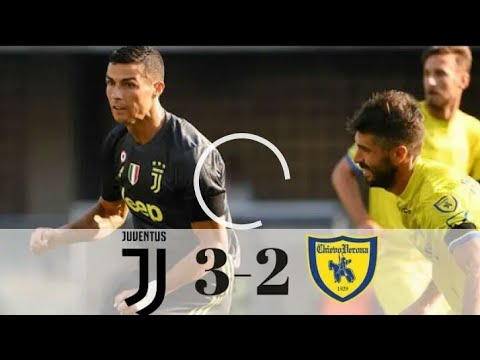 JUVENTUS vs CHIEVO (3-2) | ALL GOALS AND HIGHLIGHTS | 18.08.2018