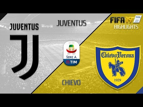 Juventus x Chievo – HIGHLIGHTS SIMULATION  FIFA19 – [CPU vs CPU]