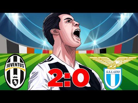 Juventus Vs Lazio (2-0) – 2 Vittoria Per la Juve, Goal di Pjanic! Serie A 25/08/2018