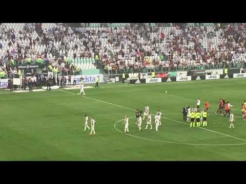 Juve – Lazio: 2-0 | Fine partita, Bonucci saluta e chiede scusa alla Curva Sud. – LIVE HD