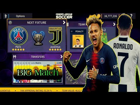 PARIS Vs JUVENTUS 🏆 Champions League Semi-FInal 🌺 Dream League Soccer 2019 Android Gameplay