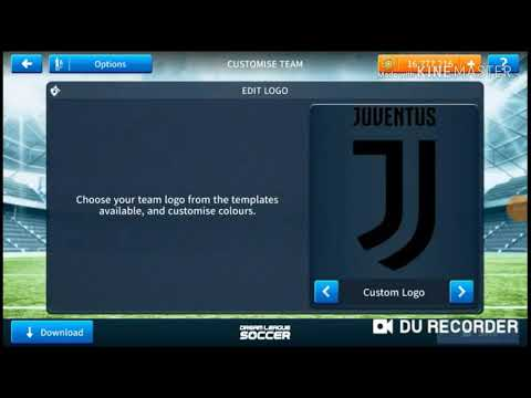 How to change logo and kit in DLS (JUVENTUS )