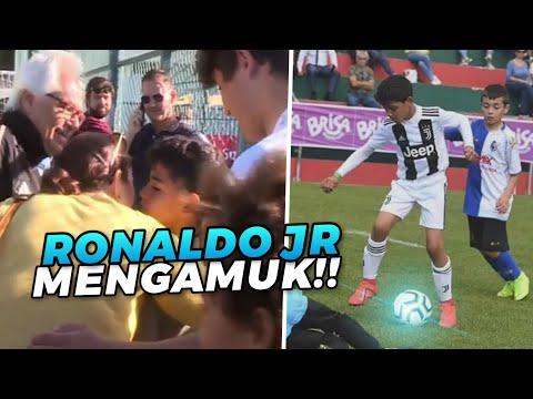 Di Ragukan Bermain ‼️ Begini Cara Ronaldo Junior Buktikan & Cetak Hattrick Bagi Juve U-9