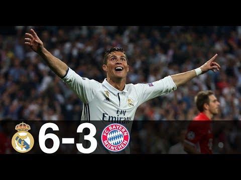 Real Madrid vs Bayern Munich 6-3 – All Goals & Highlights – UCL 2016/17 (1st and 2nd leg)
