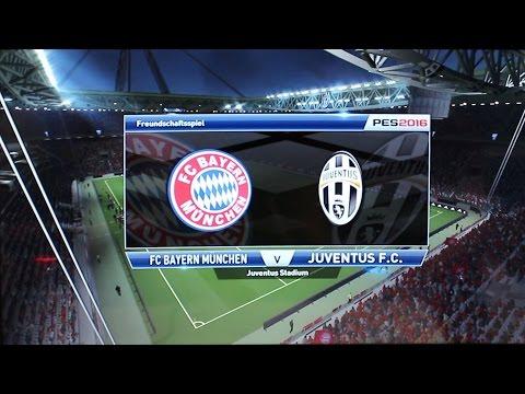 PES 2016 Gamescom Gameplay PS4 ★ FC Bayern München vs. Juventus Turin