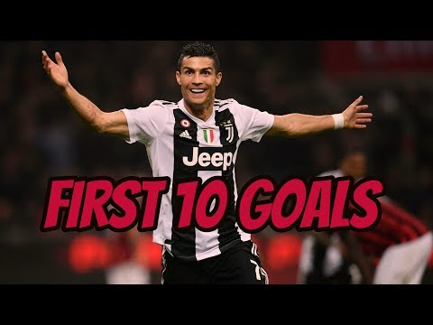 Cristiano Ronaldo First 10 Goals For Juventus ● HD ● 2018/2019