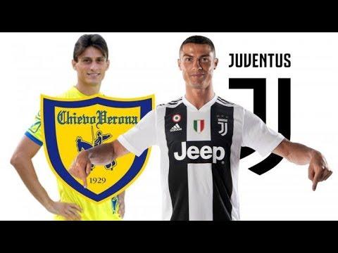 JUVENTUS VS CHIEVO PES 2019 FULL MATCH