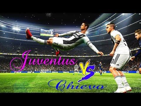 Juventus vs Chievo Full Match | Ronaldo Amazing Goals | PES 2019 Gameplay PC