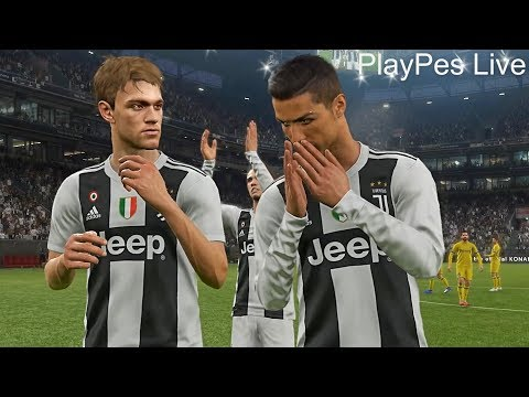 PES 2019 – JUVENTUS vs CHIEVO – Full Match & Amazing Goals – PC Gameplay 1080p HD