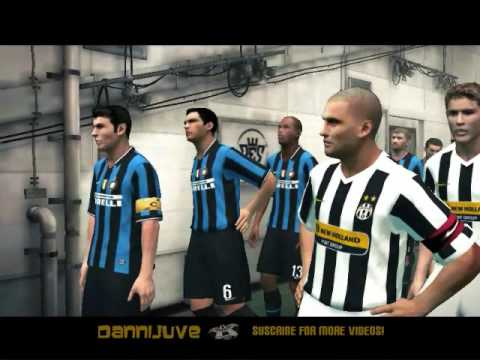 PES 2010 – Juventus vs Inter  [All Faces and Kits]!
