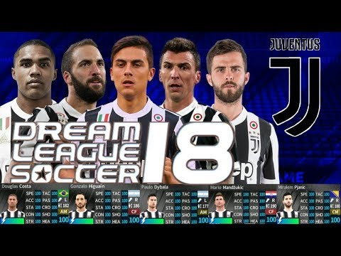 UPDATED HACK ALL JUVENTUS PLAYERS 2018 ALL 100%   DREAM LEAGUE SOCCER 2018