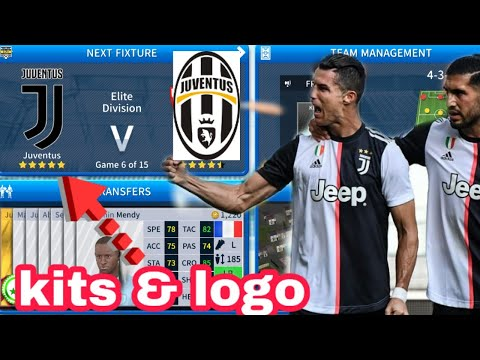 How To Make Juventus Team Kits & Logo 2019/2020 | Dream League Soccer 2019