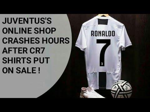 Resmi ke Juventus, Jersey Cristiano Ronaldo Mulai Diburu