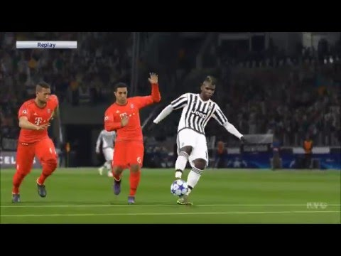 PES 2016 – UEFA Champions League – Juventus vs FC Bayern Munich Gameplay (PS4 HD) [1080p60FPS]