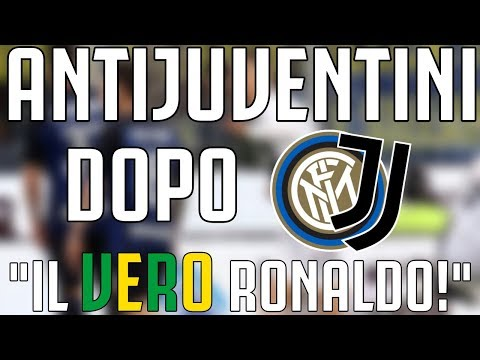 "ANTIJUVENTINI dopo Inter – JUVENTUS 1-1 | ""IL VERO RONALDO!"""