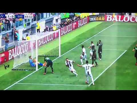 PRIMO GOL CRISTIANO RONALDO CR7 Juventus Sassuolo 1-0 first goal amazing golazo