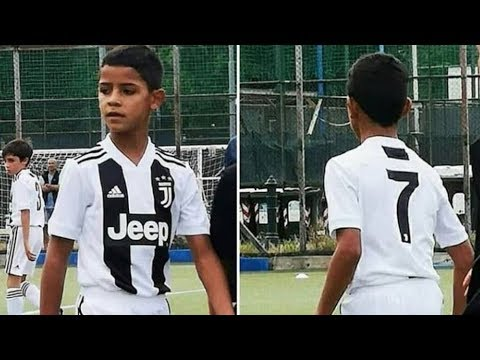 Cristiano Ronaldo Junior Debut Goal for Juventus