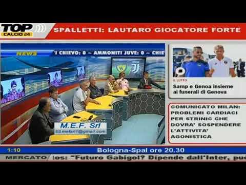 QSVS – chievo verona-juventus 2-3 del 18/08/2018 (Telelombardia)