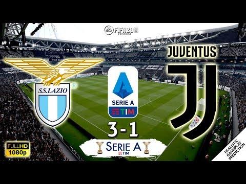 Lazio vs Juventus 3-1 | Serie A 2019/20  | Matchday 15 | 07/12/2019 | FIFA 20
