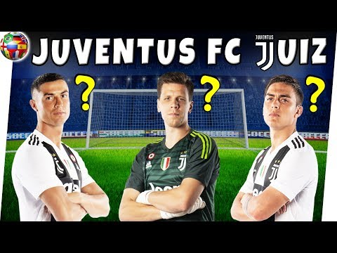 How Well Do You Know JUVENTUS FC Players? | Season 2018/2019 | Soccer Quiz | Lineups/Squad