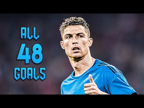 Cristiano Ronaldo ● Welcome to Juventus All 48 Goals 2017/18 ● HD