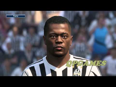 PES 2016 Demo Juventus Player Faces PS4