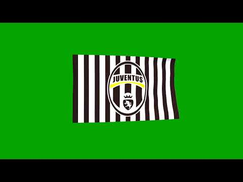 FULL HD Green Screen Efektleri – Juventus Takım Bayrağı (Juventus Flag)