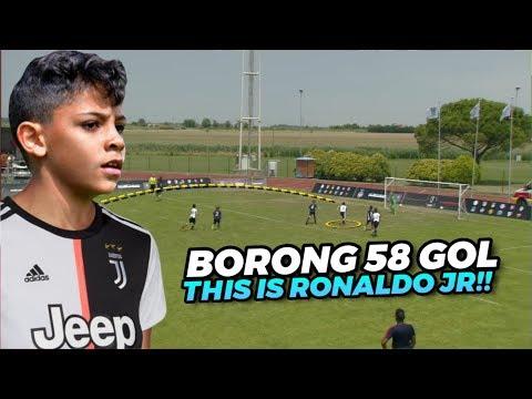 Si Pangeran Muda Juve‼️Inilah Skills Mantul Ronaldo Jr Bersama Juventus U-9