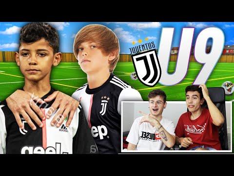 ⚽️👦🏼REAZIONE AI BAMBINI della JUVENTUS U9!! (Ronaldo jr. , attaccanti fenomeni)