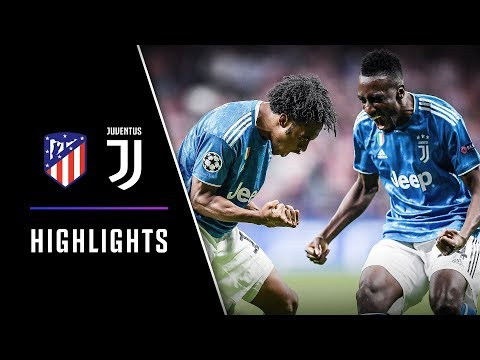 HIGHLIGHTS: Atletico Madrid vs Juventus – 2-2 – Cuadrado & Matuidi goals earn point in Madrid