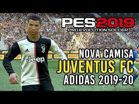 PES 2019: novo uniforme da Juventus 2019-20! Baixe para PES 2018 e 2019