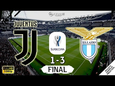 Juventus vs Lazio 1-3   FINAL   Supercoppa Italiana 2019/20   22/12/2019   FIFA 20