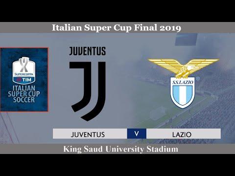 🔴Juventus vs Lazio│2019 Supercoppa Italiana│PES 2020 Gameplay🔴