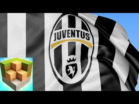 Block Craft 3D JUVENTUS Logo
